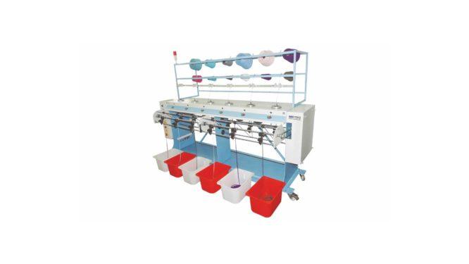Altı Sistem Yuvarlak Örgü Makinesi