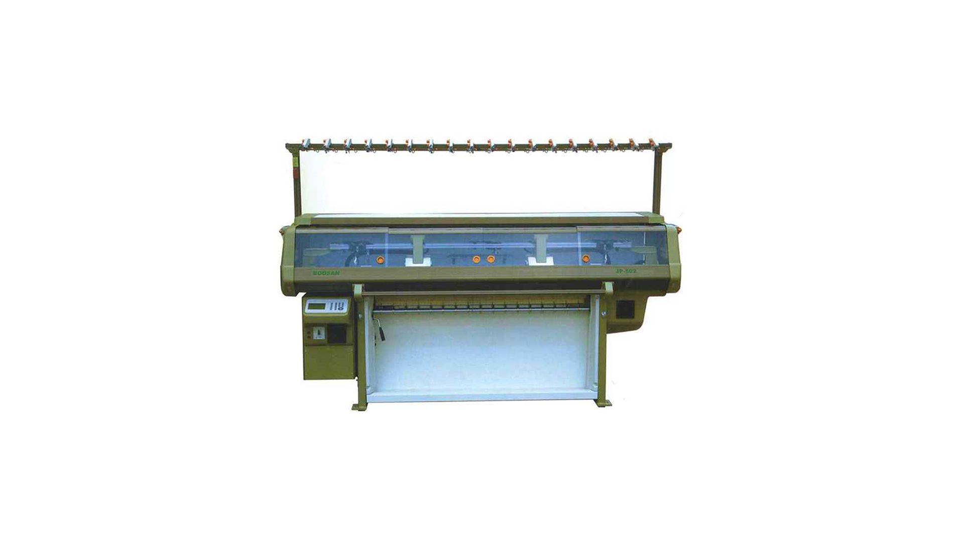 Bilgisayarlı Düz Örgü Yaka Makinası JP502
