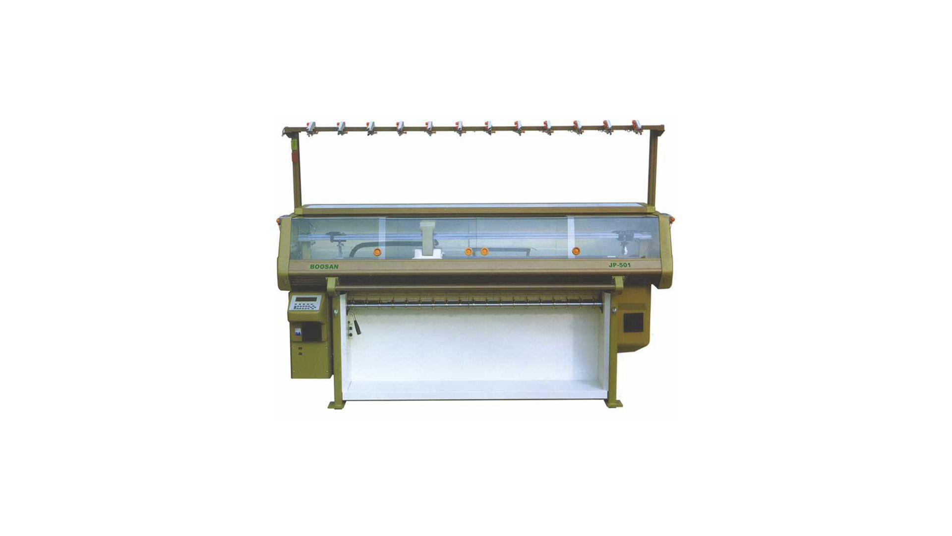 Bilgisayarlı Düz Örgü Yaka Makinası JP501