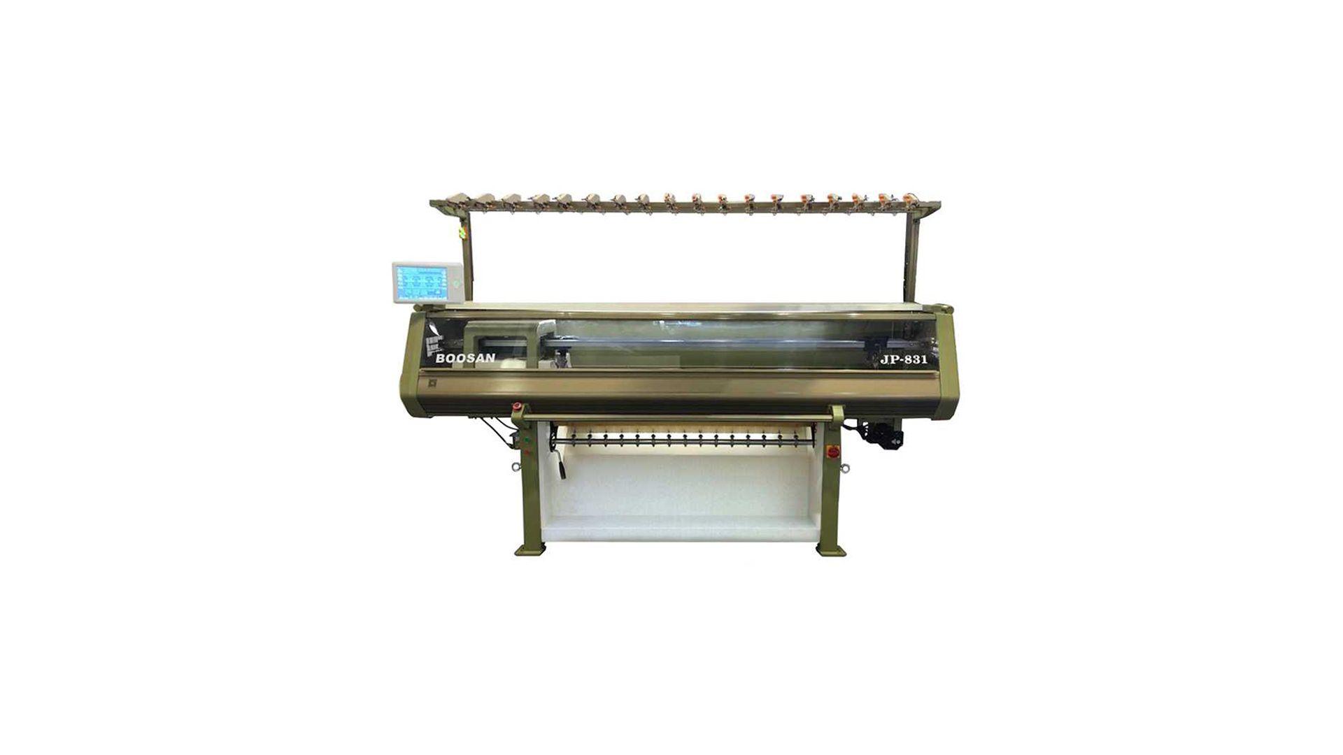 Bilgisayarlı Düz Yaka Örme Makinası JP831