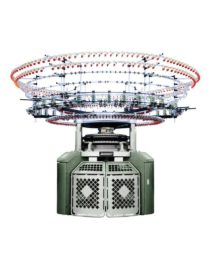 Полностью компьютеризированная автоматическая 6 (4) цветная кругловязальная машина
