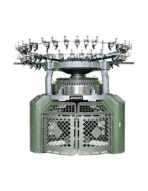 Fully Electronic Jacquard Circular Knit Machine