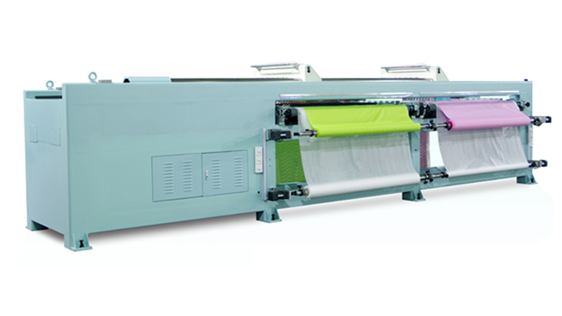 Horizontal Quilting Embroidery Machine Double Width