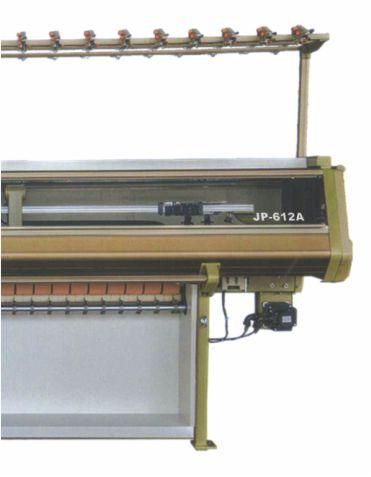 jp-612A lycra system mini jacquard collar machine1