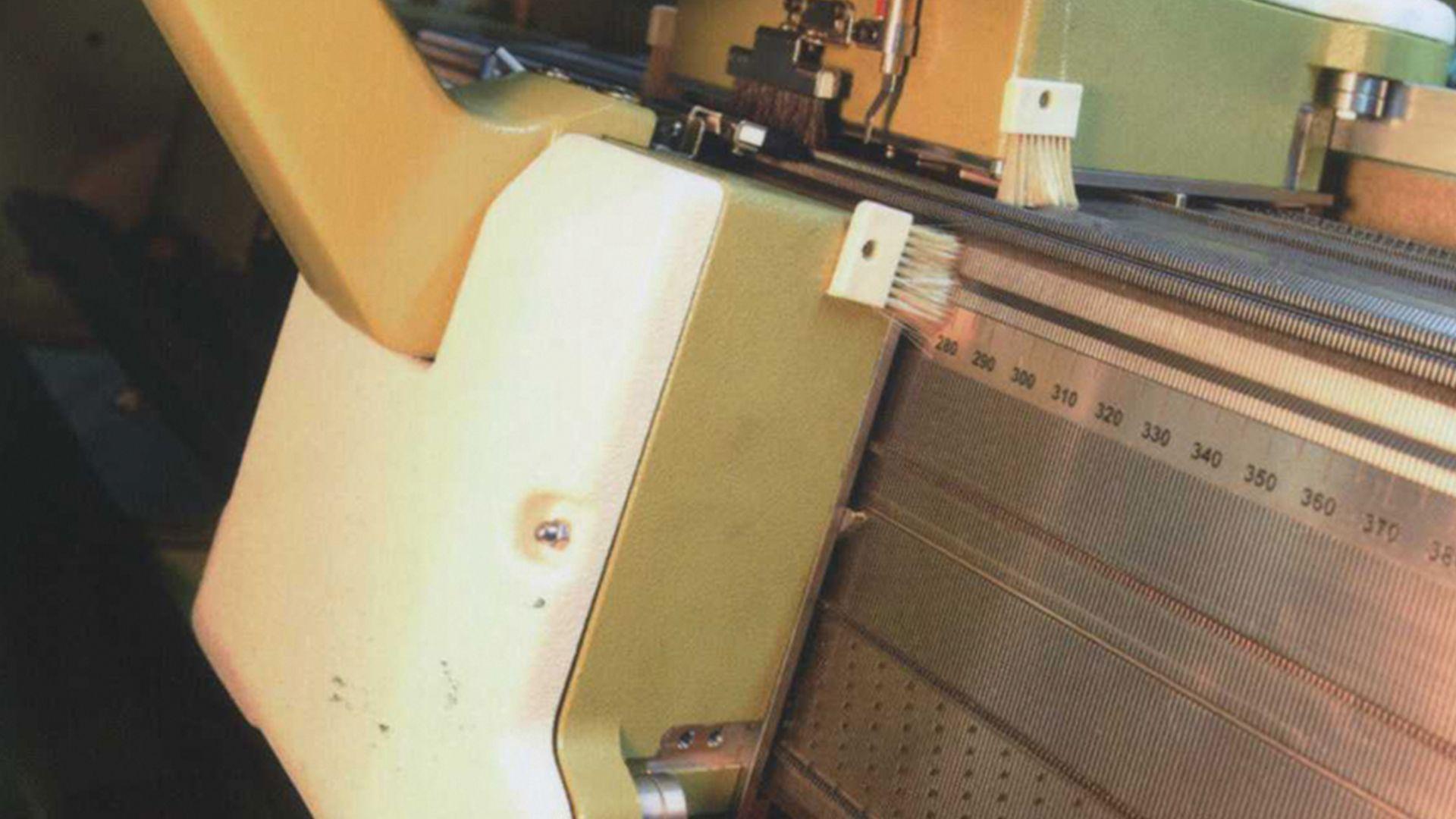 Bilgisayar Kontrollü Yaka Örme Makinası JP711