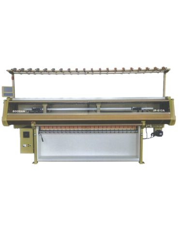 Licra System Mini Jacquard Collar Knitting Machine JP612A