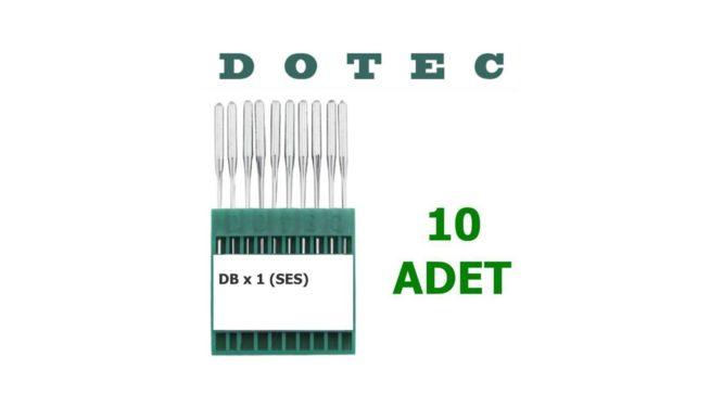 Dotec DBX 1 Düz Dikiş Makinesi İğnesi (İnce Dip) (10 Adet)