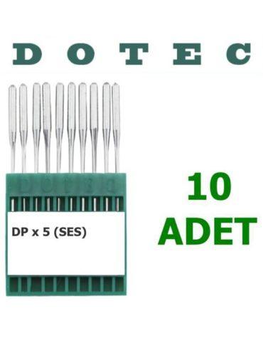 Dotec DPX 5 Düz Dikiş Makinesi İğnesi (Kalın Dip) (10 Adet)