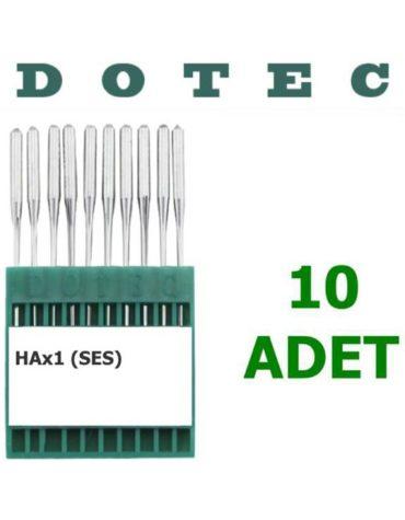 Dotec HAX 1 Ev Tipi Makine İğnesi (10 Adet)