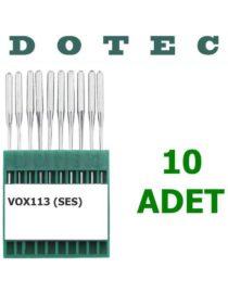 Dotec VOX 113 (Ses) Lastik Makine İğnesi (10 Adet)