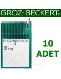Groz Beckert 558 Gözlü İlik Makinesi İğnesi (10 Adet)