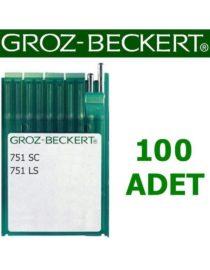 Groz Beckert 751LS Süs ilik İğnesi (100 Adet)