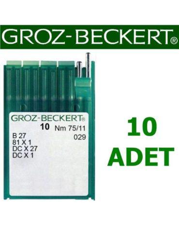Groz Beckert DC X 27 Overlok Makinesi İğnesi (10 Adet)