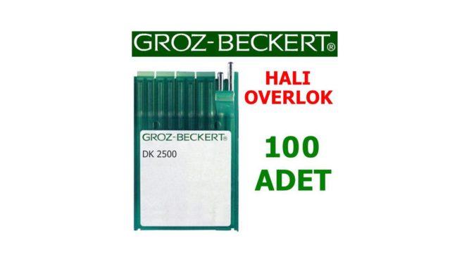 Groz Beckert DK2500 Halı Overlok İğnesi (100 Adet)