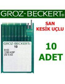 Groz Beckert DV X 63 Reçme Makine İğnesi (San - Kesik Uçlu) (10 Adet)