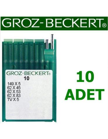 Groz Beckert TV X 5 Kollu Kot Makinesi İğnesi (Kısa) (10 Adet)
