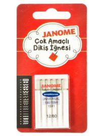Janome Normal Kalınlıktaki Kumaşlar İçin Dikiş İğnesi (15X1)