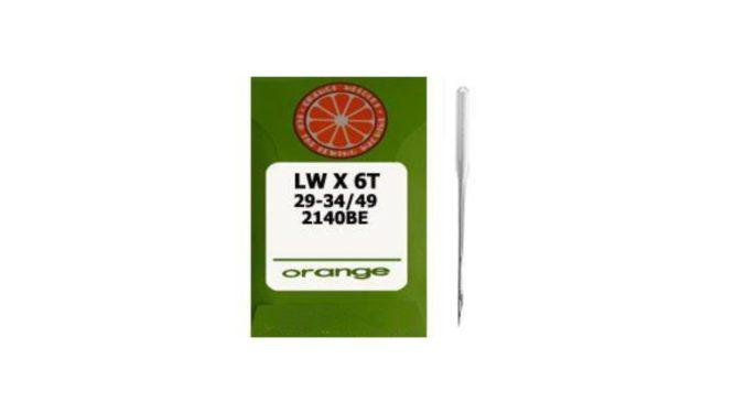 Orange LW X 6T Etek Baskı Makinesi İğnesi