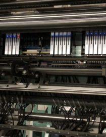 Raschel Örme Şerit Kumaş Makinesi