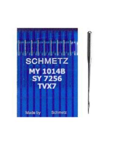 Schmetz TV X 7 Çift İğne Kollu Makine İğnesi (Uzun)