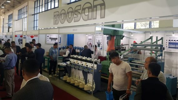 Özbekistan Tekstil Makineleri Fuarı 2019 – Santesk & Boosan