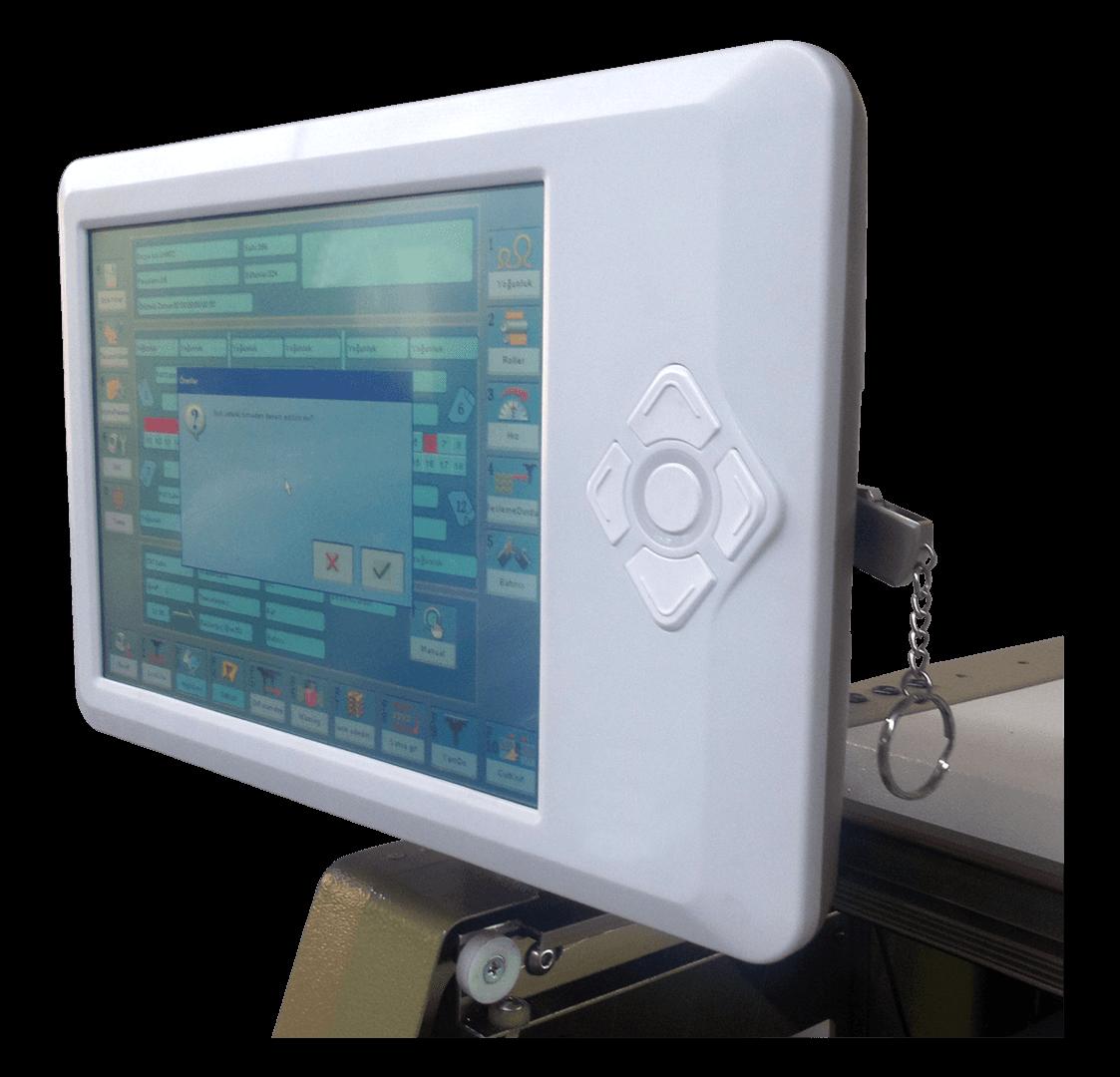 Yaka makinası kontrol paneli
