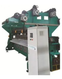 ME2110-III Oil Tek İğneli Tıbbi Yatak Kumaşı Çözgü Örme Makinesi
