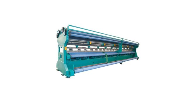 ME291 Single Needle Bar Net Warp Knitting Machine