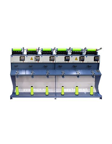 İplik aktarma makinası AKTR 6 – 10″ inç