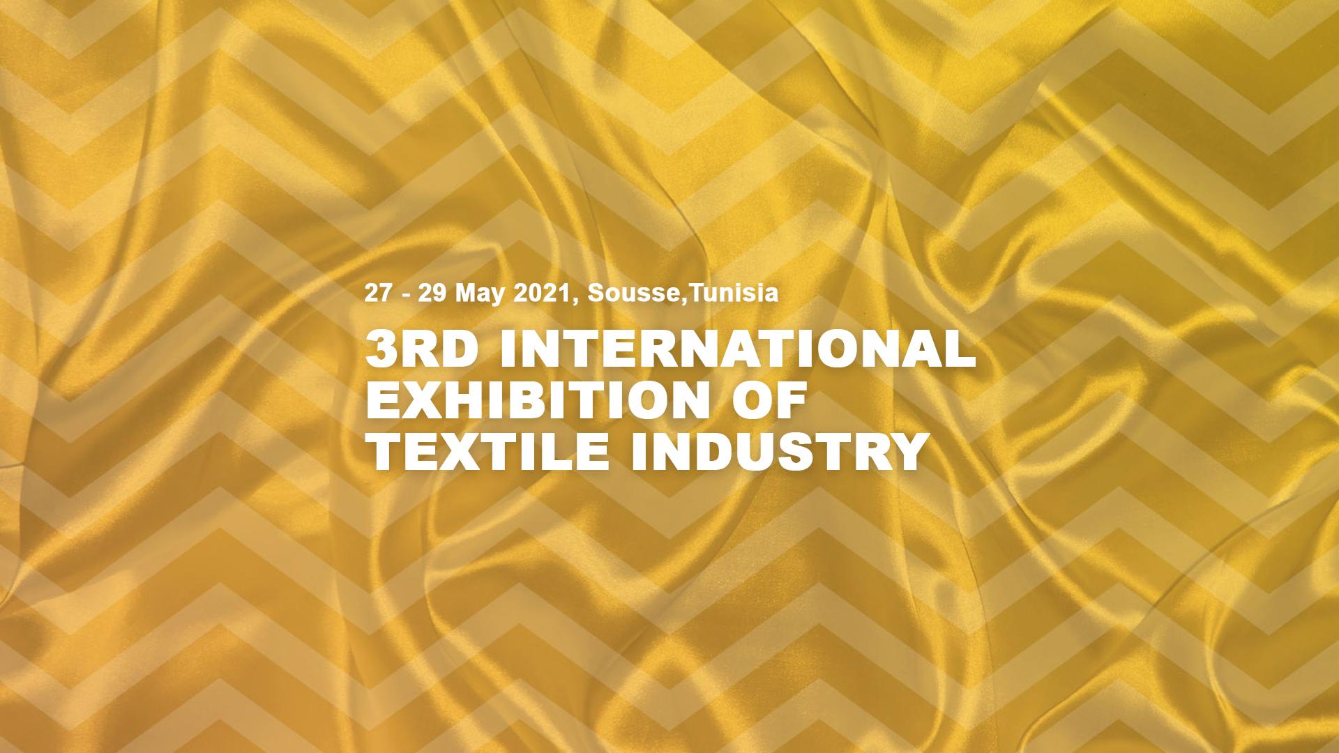 INTERTEX TUNISIA fuarı 27-29 Mayıs 2021