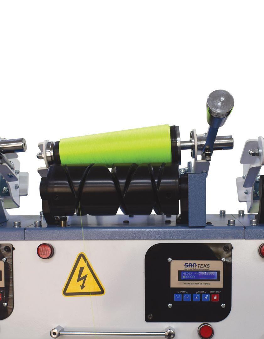 Yağlama Sistemli İplik Aktarma Maknesi AKTR 6 – 10″ inç