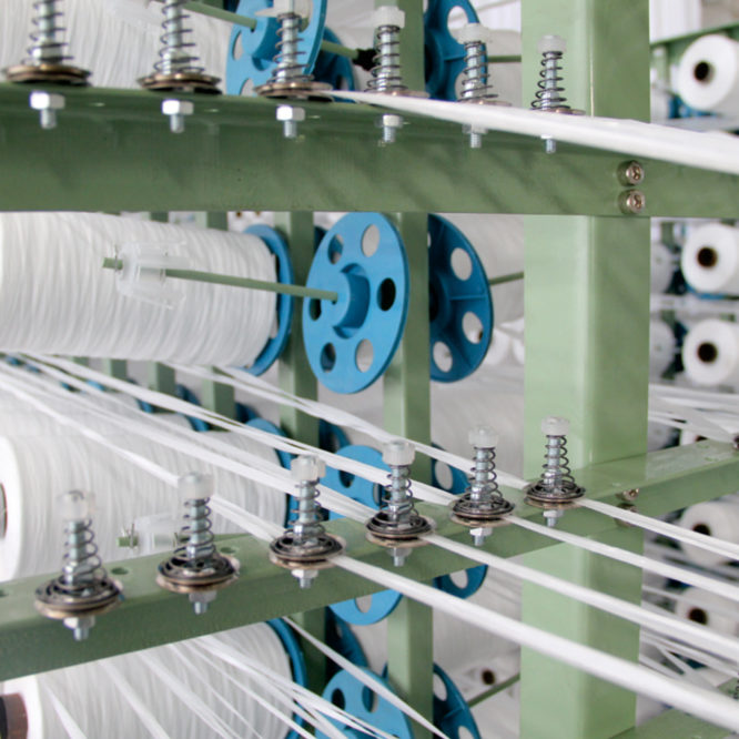 Lifting belt needle loom