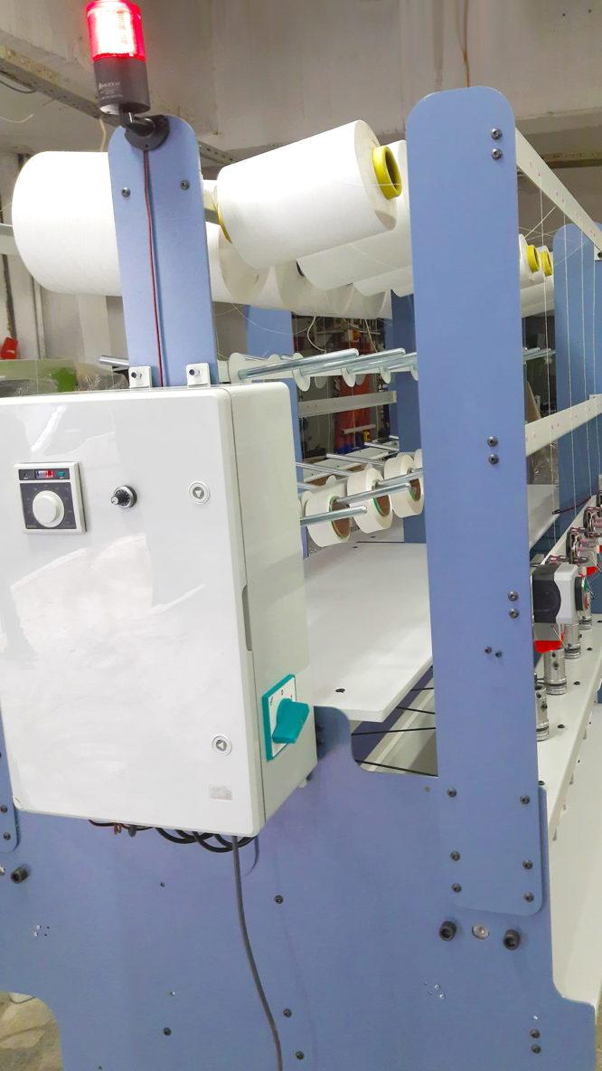Çok iğneli lastik örme makinesi LSOR-01