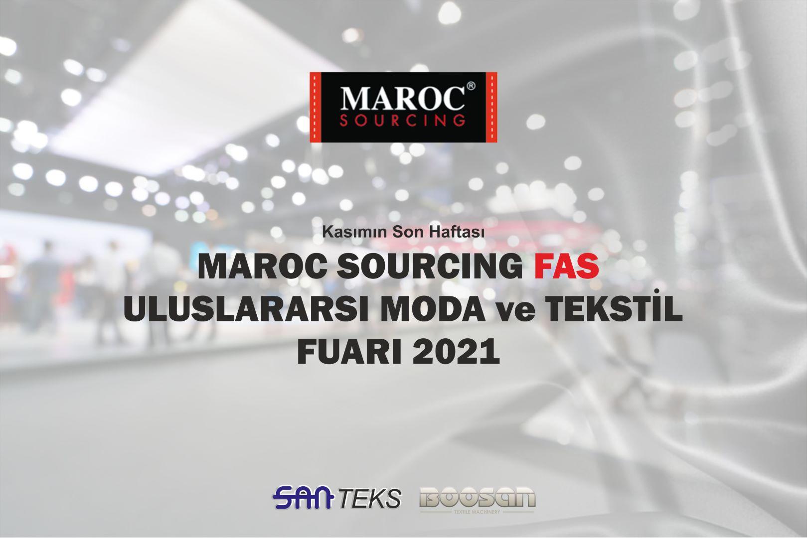 Fas Maroc Sourcing Moda ve Tekstil Fuarı 2021