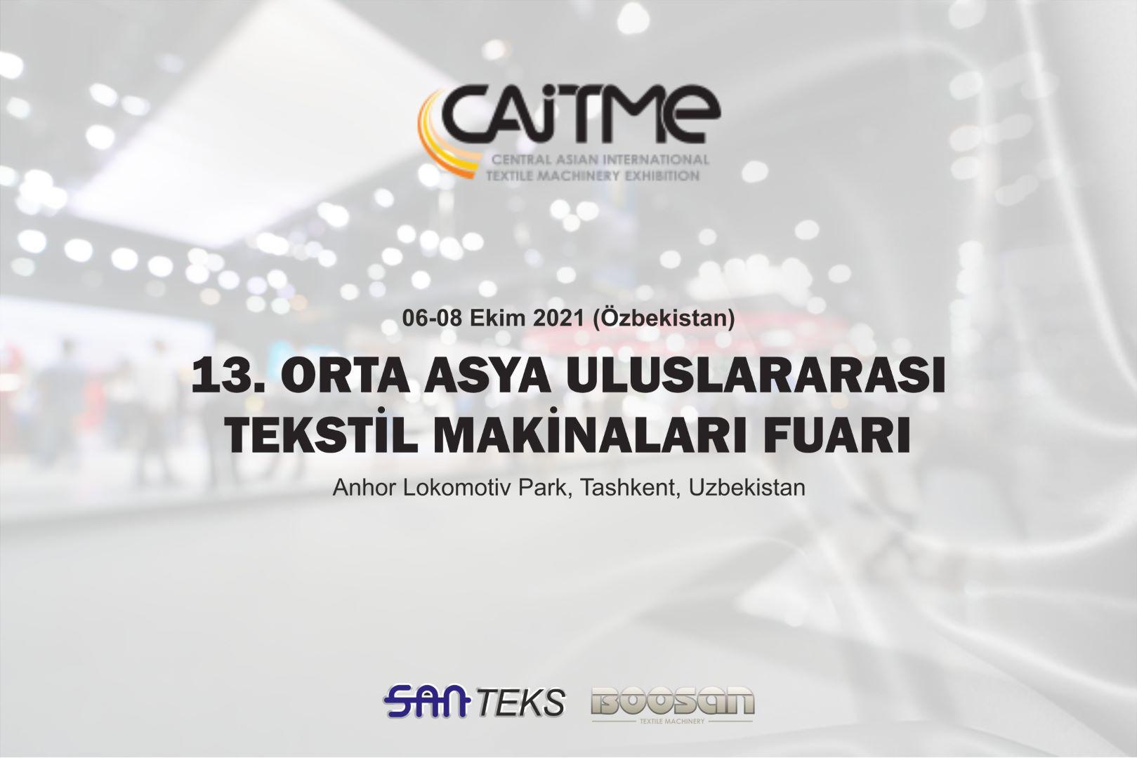 CAITME Özbekistan Tekstil Makineleri Fuarı 2021