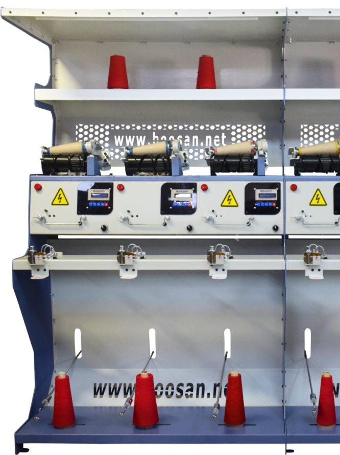 Söküntü ve İplik Aktarma Makinesi 8 inç – 6 Kafa